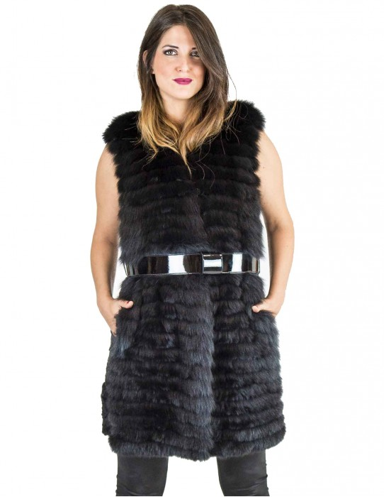 Persian skinned fur and black 42 fox fur Pelz pelliccia persiano Персидская Мех