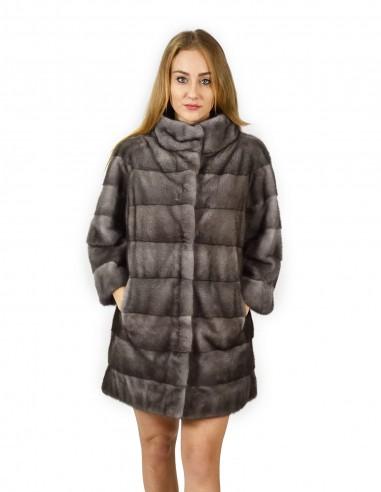 Nuovi modelli di cappotto di visone, Collo Alla Coreana